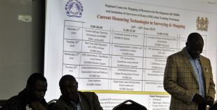 RCMRD Trains ISK Members on Current Measuring Technologies in Surveying & Mapping