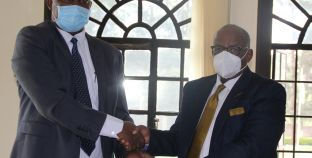 RCMRD Pays Courtesy Call to Botswana High Commissioner to Kenya