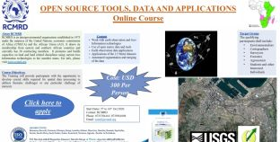 ONLINE COURSE ON OPEN SOURCE TOOLS, DATA AND APPLICATIONS