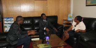 Chairperson RCMRD Conference of Ministers visits RCMRD