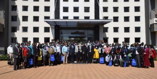 Lands CS Attends Closing Ceremony of Principles of GIS using QGIS Training for Staff
