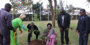 RCMRD Hosts Uganda's Lands, Housing and Urban Development Minister